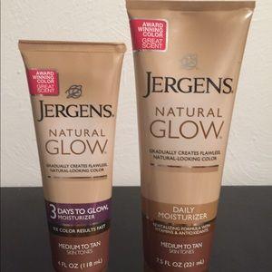 NWOT Bundle of Jergens Medium to Tan Natural Glow